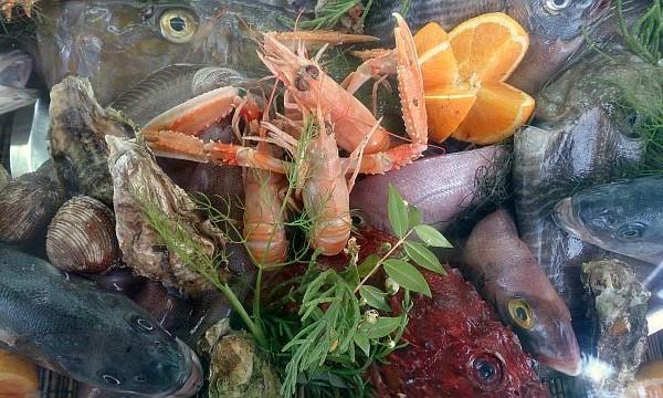 Firsch und Meeresfrüchte Sardinien Genuss